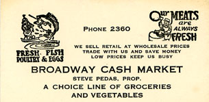 [Broadway Cash Market-Card]