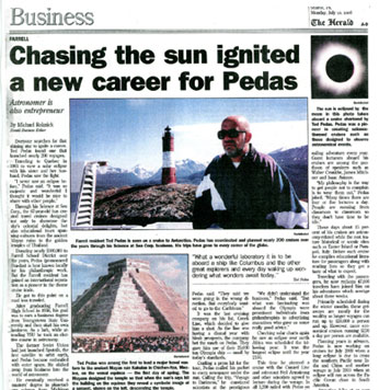[News Reprint - Chasing the Sun]
