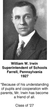 [Superintendent William Irwin]