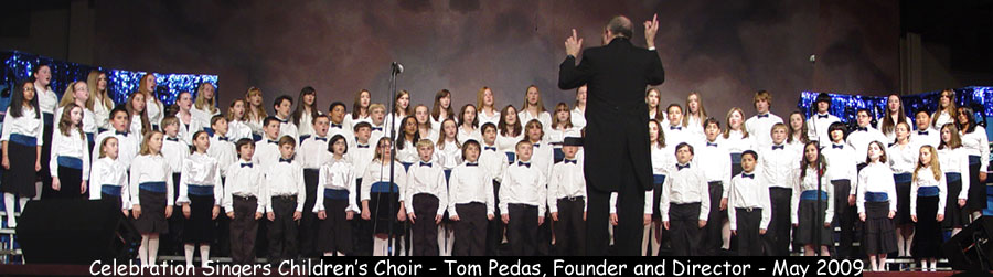 [Children's Choir, Tom Pedas, Director]