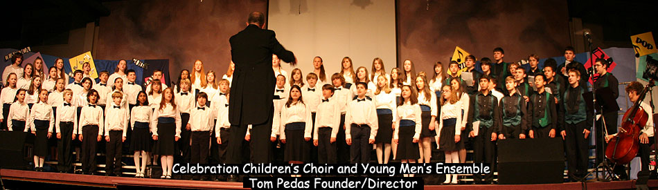 [Children's Choir and Men's Ensemble]