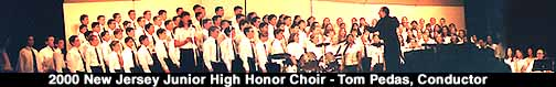 [Tom Pedas - Junior High Honor Choir]