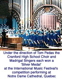 [Cranford High School Choir - Notre Dame Cathedral, Quebec]
