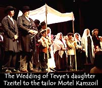 Songs From Fiddler On The Roof Tom Pedas Music Director