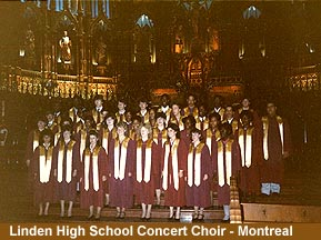 [Linden High School Choir - Montreal]